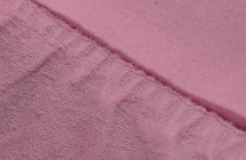 Простыня на резинке  Махровая — фиолетовый