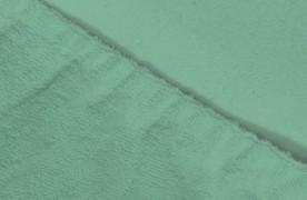 Простыня на резинке  Махровая — ментоловый